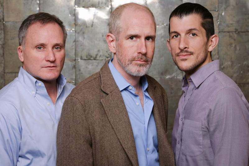 "The lives of Mickey (Stephen Black), Ned (Greg Lyle-Netwon) and Felix (Andrew Russell) are forever affected by the scourge of AIDS in Strawberry Theatre Workshop's ""The Normal Heart."""