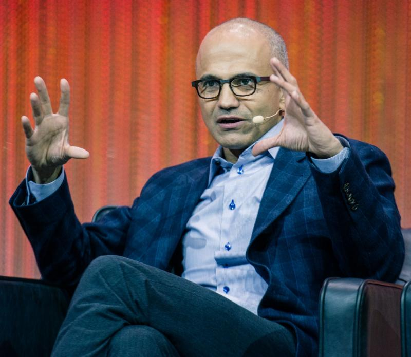 Satya Nadella has been at Microsoft since 1992.