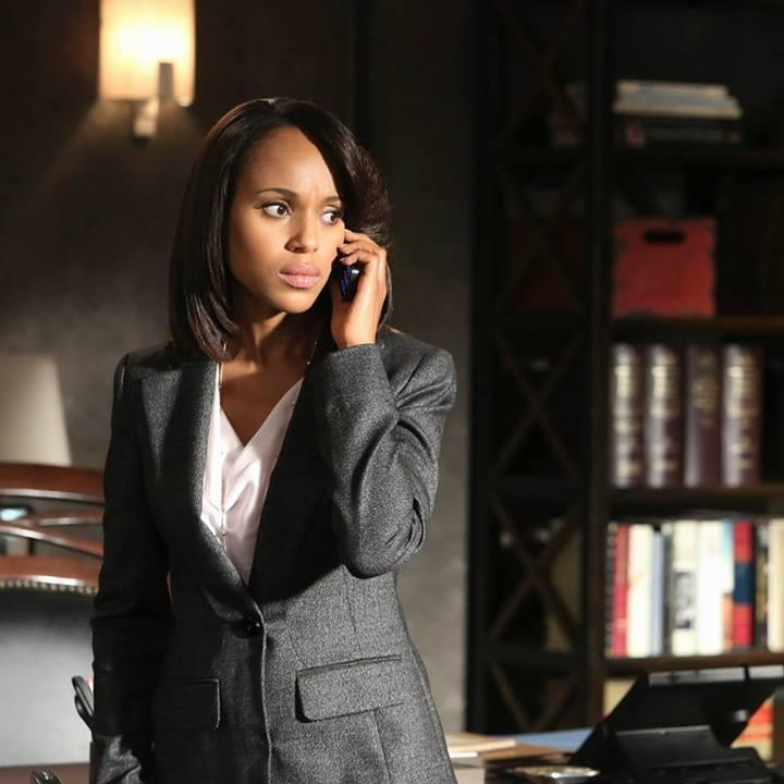 """Actress Kerry Washington, who plays Olivia Pope on the hit show """"Scandal."""""""