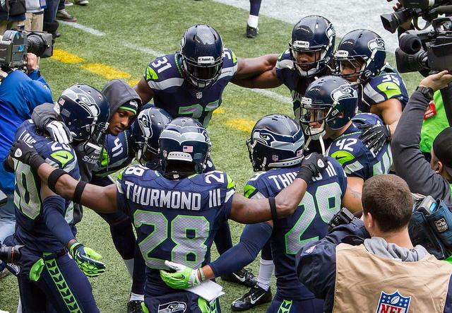 The Seattle Seahawks face the Denver Broncos for Super Bowl XLVIII.
