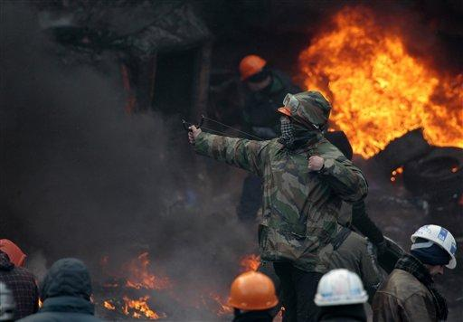 Protests in Ukraine have led to the resignation of the prime minister and the deaths of at least five people.