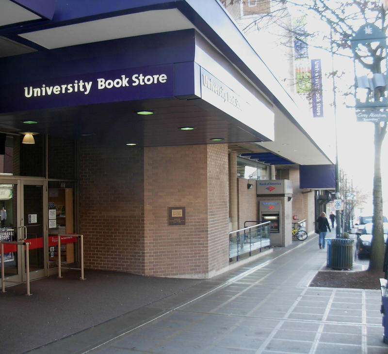 University Book Store's main location in the University District.