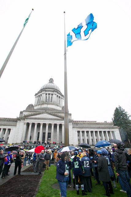 Will the Seahawks' Super Bowl victory bring bipartisanship in Olympia?