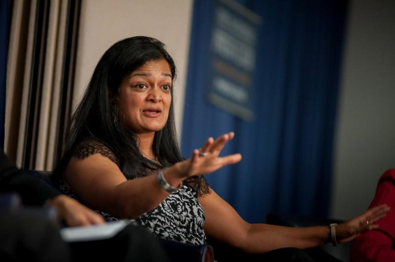 Pramila Jayapal is an advocate for immigrant, civil and human rights.
