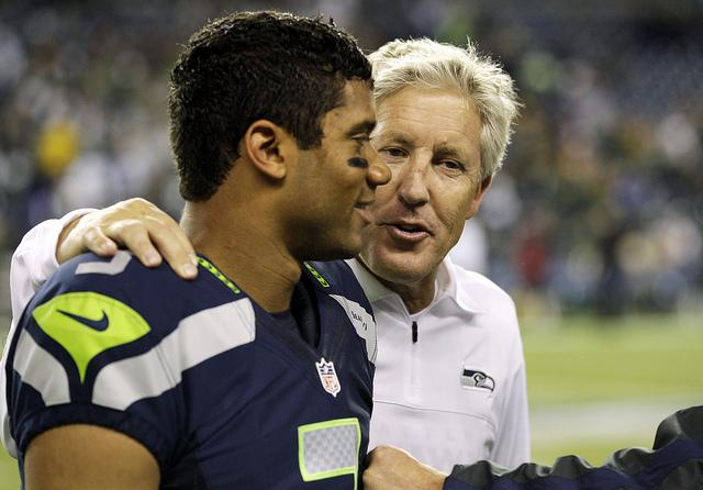 Seattle Seahawks head coach Pete Carroll joined the organization in 2010.