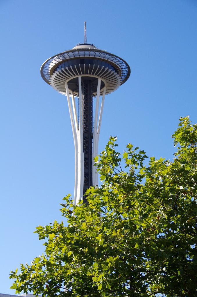 Seattle's Space Needle: leaving Seattle?