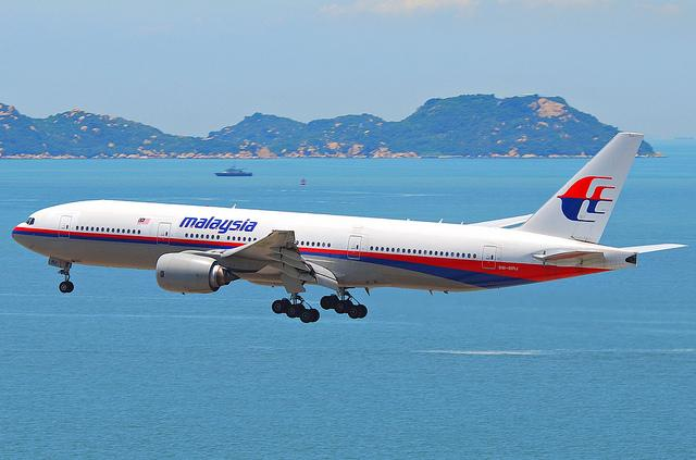 Malaysia Airlines Boeing 777-200ER.
