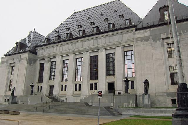 Supreme Court of Canada in Ottawa.