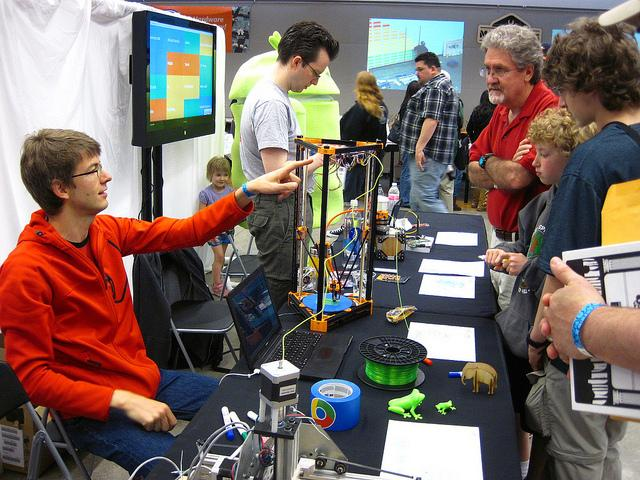 Seattle Mini Maker Faire in 2013.