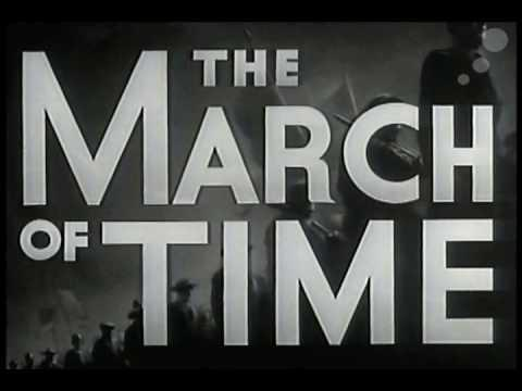 "Screenshot of ""The March of Time"" show."