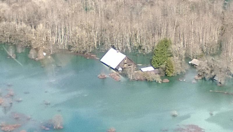 Saturday's mudslide in Oso destroyed at least 49 homes.