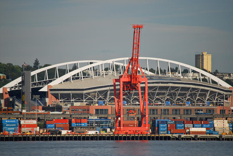 Port of Seattle, port, stadium, Century Link