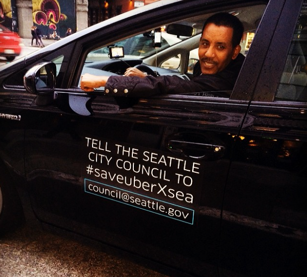 Uber has been fighting against caps on their cars by the Seattle City Council, a measure that was unanimously voted through on Monday.
