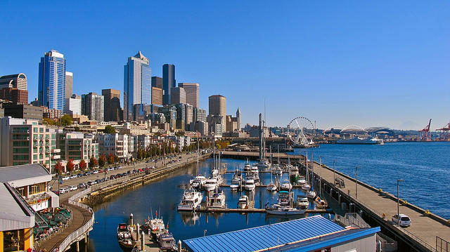 Seattle's waterfront.