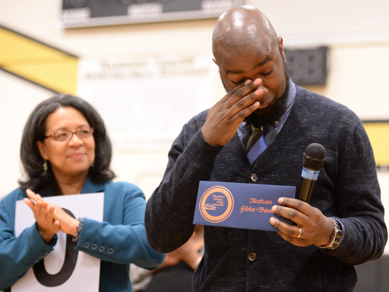 Nate Gibbs-Bowling of Lincoln High School in Tacoma received a $25,000 Milken Educator Award in April 2014. He was also named the 2016 Washington state teacher of the year.