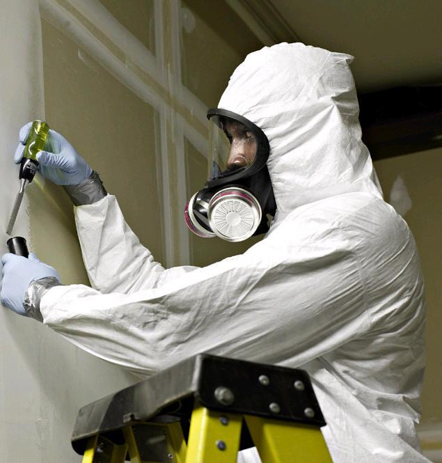 A known carcinogen, asbestos needs to be removed with the use of safety equipment including respirators. L&I determined that the DOC failed to enforce the use of respirators in its asbestos removal program.