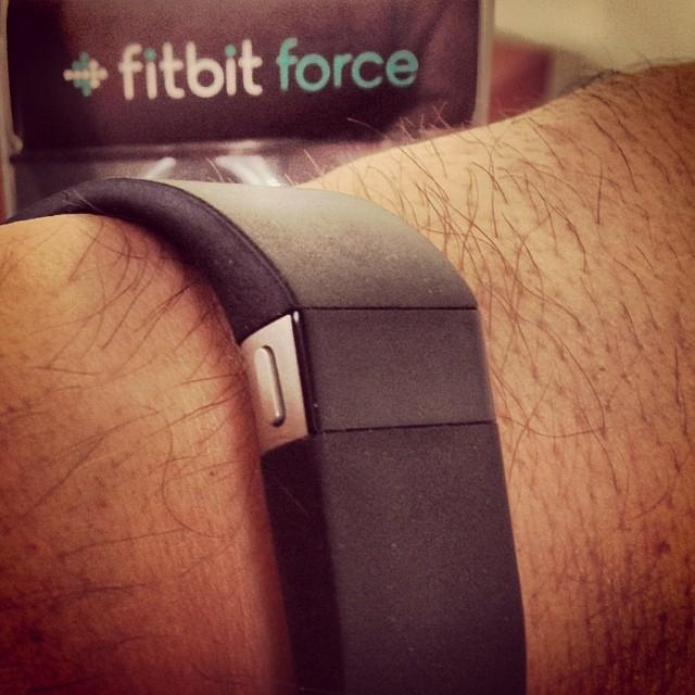 Fit Bit uses your smart phone to track the steps a person takes in a day.