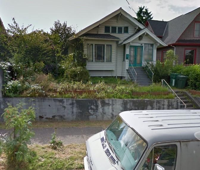 "The street view of the Green Lake ""chemical house"" discovered by the EPA last month."
