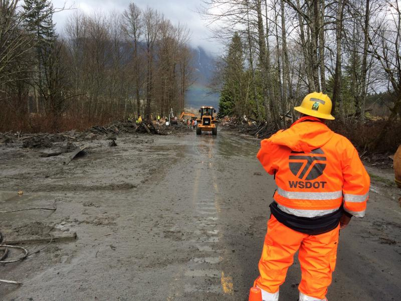 WSDOT officials have been working to clear state Route 530 since the devastating mudslide in March.