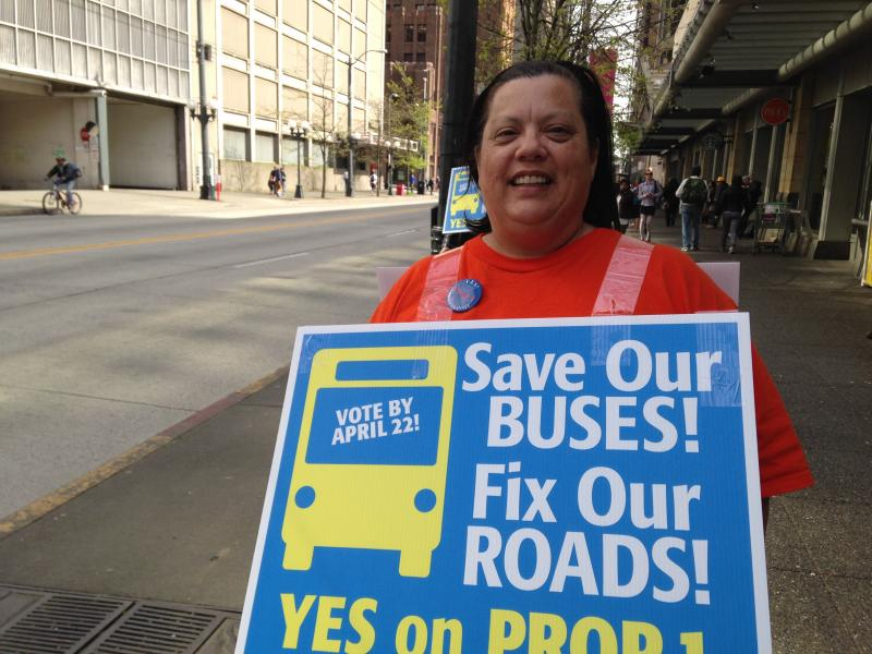 Metro Transit operator Lisa Nault says there's a free shuttle downtown as an alternative after the ride free zone ended, but no one knows about it.