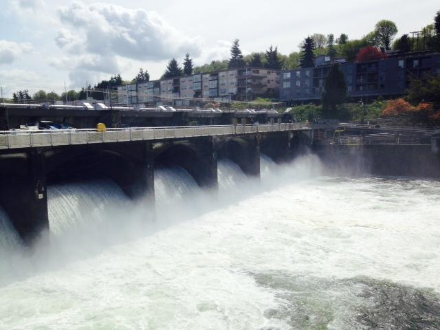The spillway gates now remain open later in the season to allow more fish to pass.
