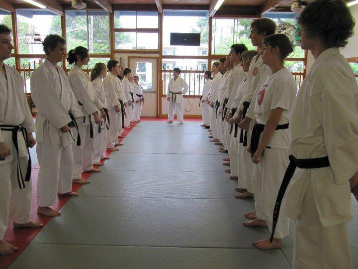 Sensei Joni Sharrah teaches at USA Karate in Shoreline.