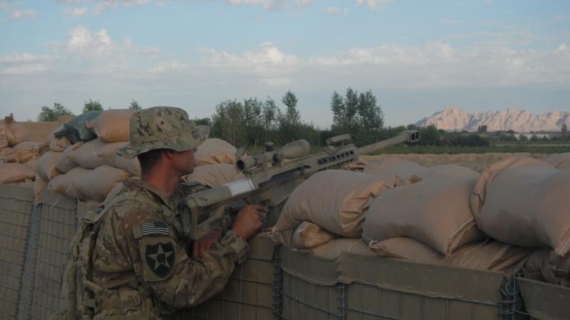 Sgt. Kurt Erickson in 2012, Kandahar Province, Afghanistan