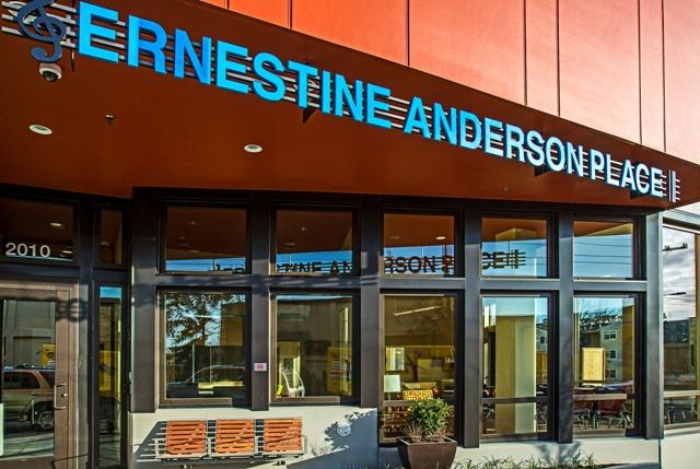 Ernestine Anderson Place in Seattle's Central District provides housing for the homeless.