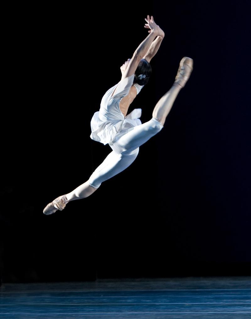 "Kaori Nakamura in Twyla Tharp's ""Waterbaby Bagatelles"""