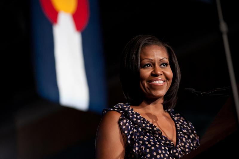 First Lady Michelle Obama is slated for a cameo on a prime time television show.