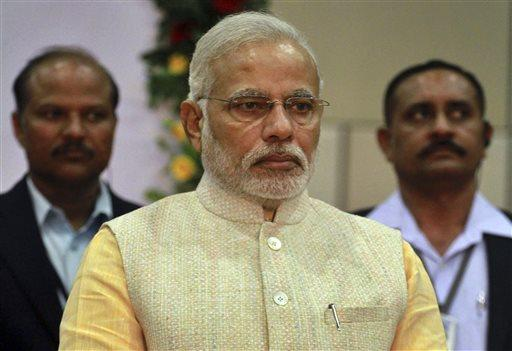 Narendra Modi was elected as India's next prime minister.