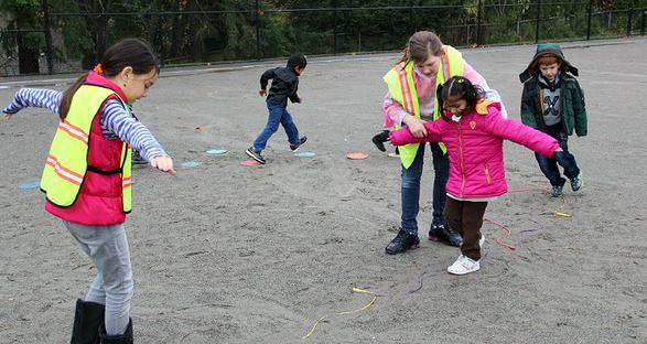 The nonprofit organization Playworks has trained several dozen schools in Washington -- including Bellevue Public Schools -- how to turn recess from the traditional free time into an organized activity period.