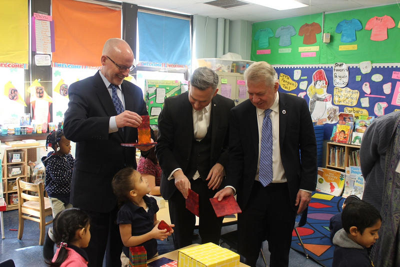 A member of a Seattle delegation, King County Executive Dow Constanine and Seattle Mayor Ed Murray visited Boston and New Jersey this year to learn about their universal preschool models.