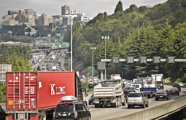 Northbound I-5 traffic in 2010. It's only gotten worse.