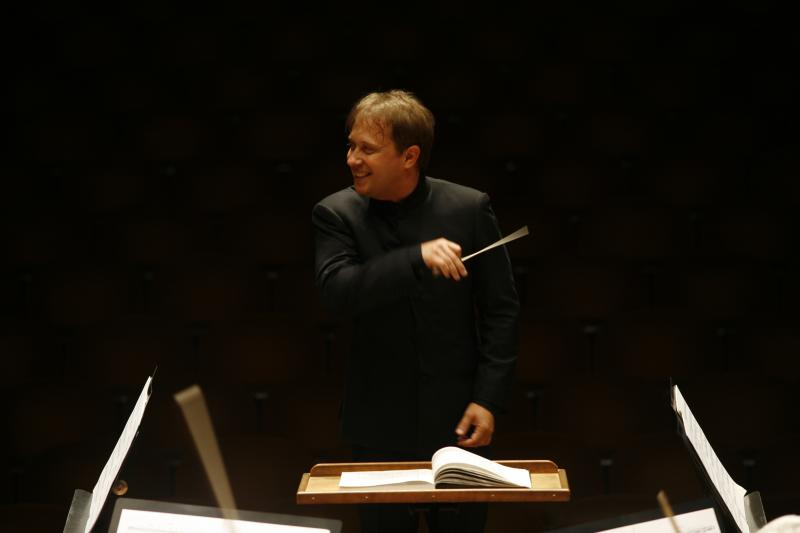 Seattle Symphony Orchestra Music Director Ludovic Morlot