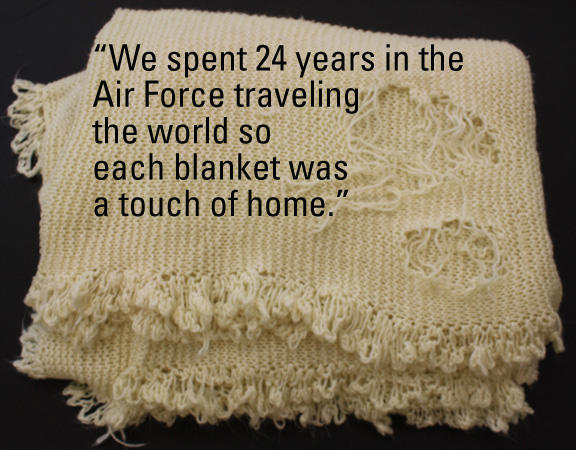 Blanket and story from Marie Watt's Tacoma Art Museum project
