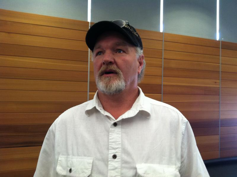 Grocery owner Kevin Ashe of Darrington