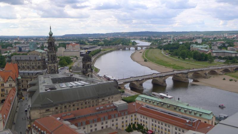 Ross Reynolds back home views of the beautiful city of Dresden, Germany.