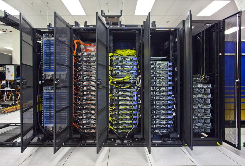 Computer servers in California