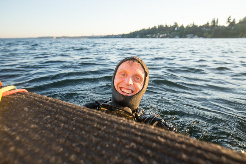 Dive into the inky black waters of Lake Washington and you may find the oldest wreck recorded: A dozen coal trains from a wreck 139 years ago.