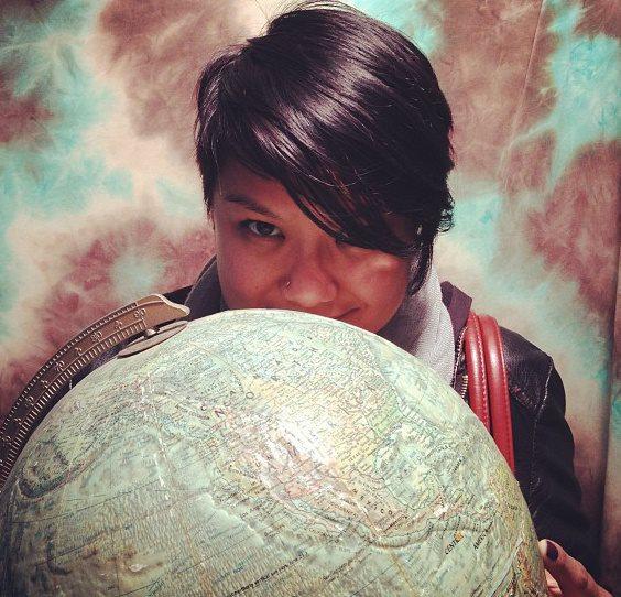 Poet Michelle Peñaloza