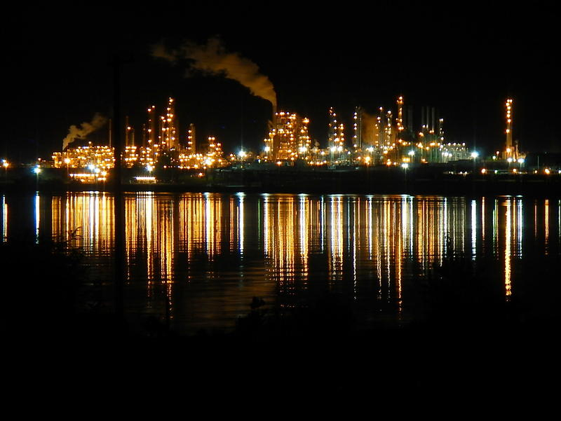 The Tesoro refinery in Anacortes, where an explosion killed seven in 2010.