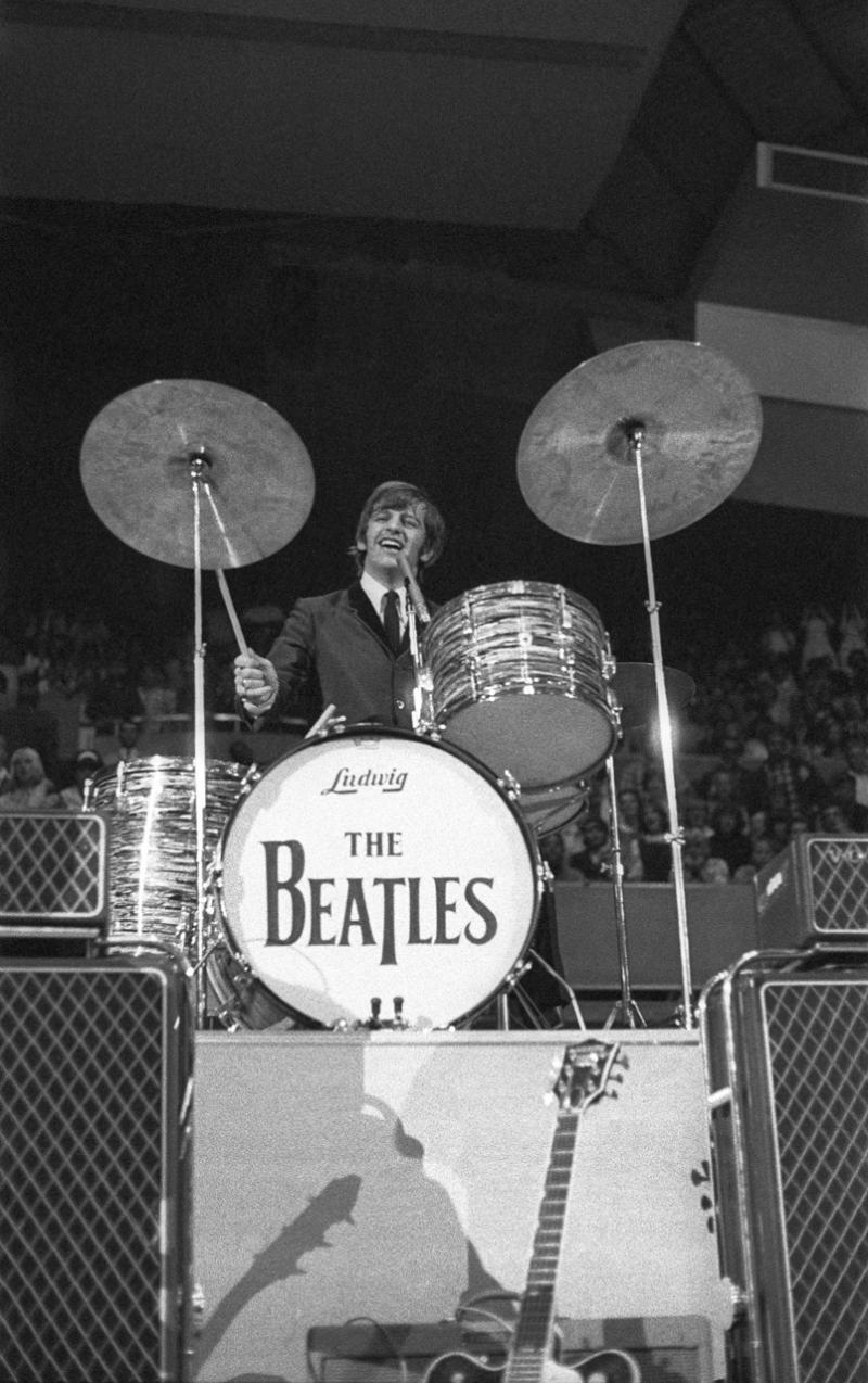 Ringo Starr at Seattle Center Coliseum, Aug. 21, 1964