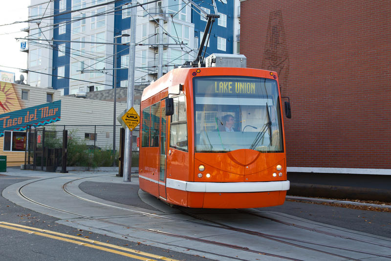 The South Lake Union trolley.