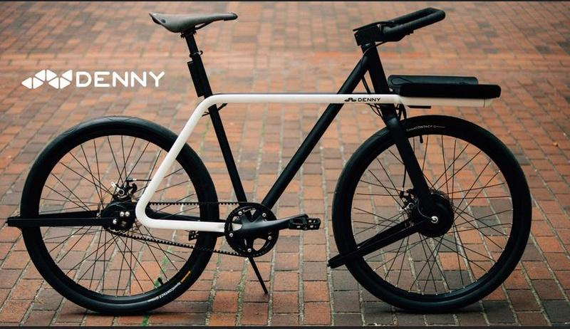The Denny, a bike created with safety in mind, has won a national Bike Project Design.