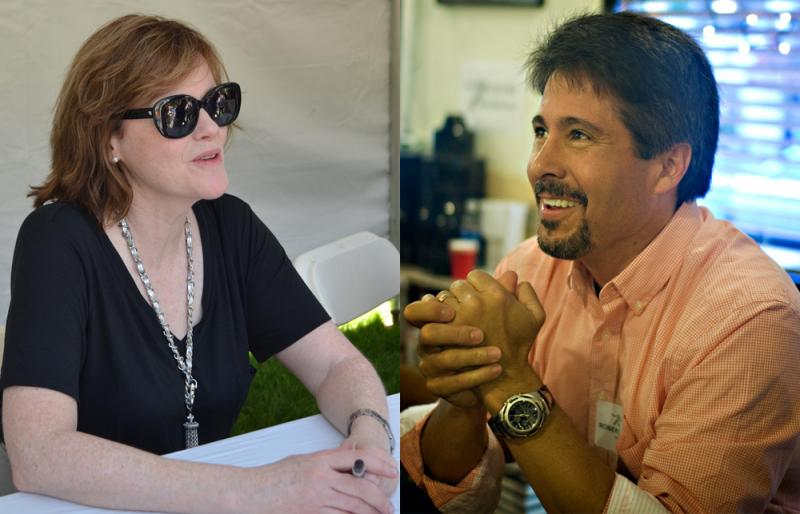 Authors Maria Semple and Robert Dugoni have differing views over the Amazon/Hatchette feud.