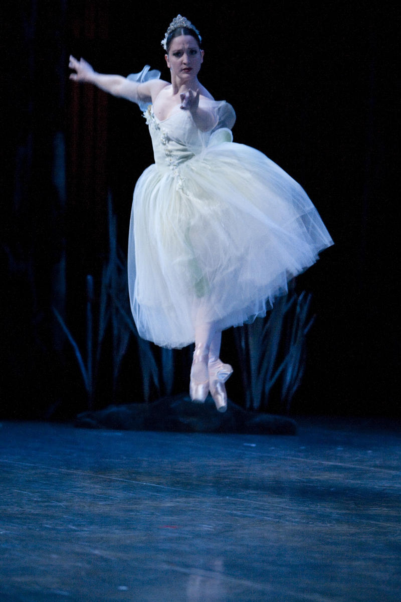 "Carrie Imler in Peter Boal's ""Giselle.' Tap on this image for more photos."