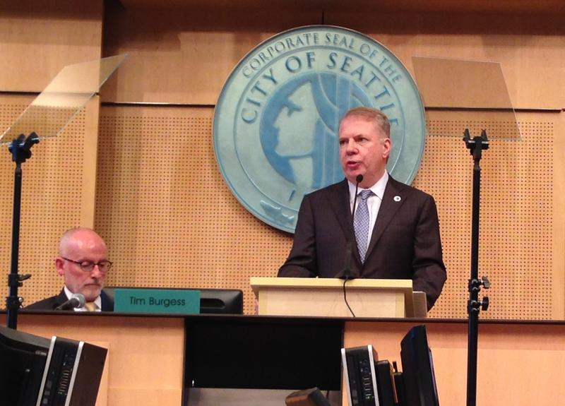 File photo: Seattle Mayor Ed Murray