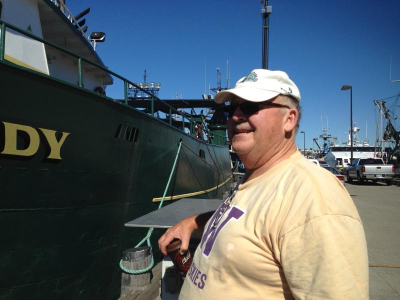 Gary Stewart, owner of the Polar Lady. Much of the fleet has already returned from Alaska.