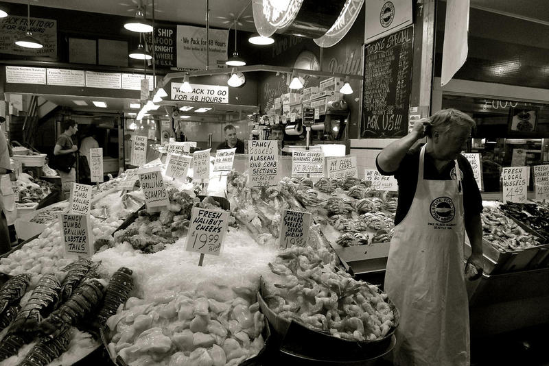 Seattle's Pike Place Market.